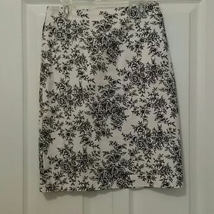 Toile Cotton Summer Skirt